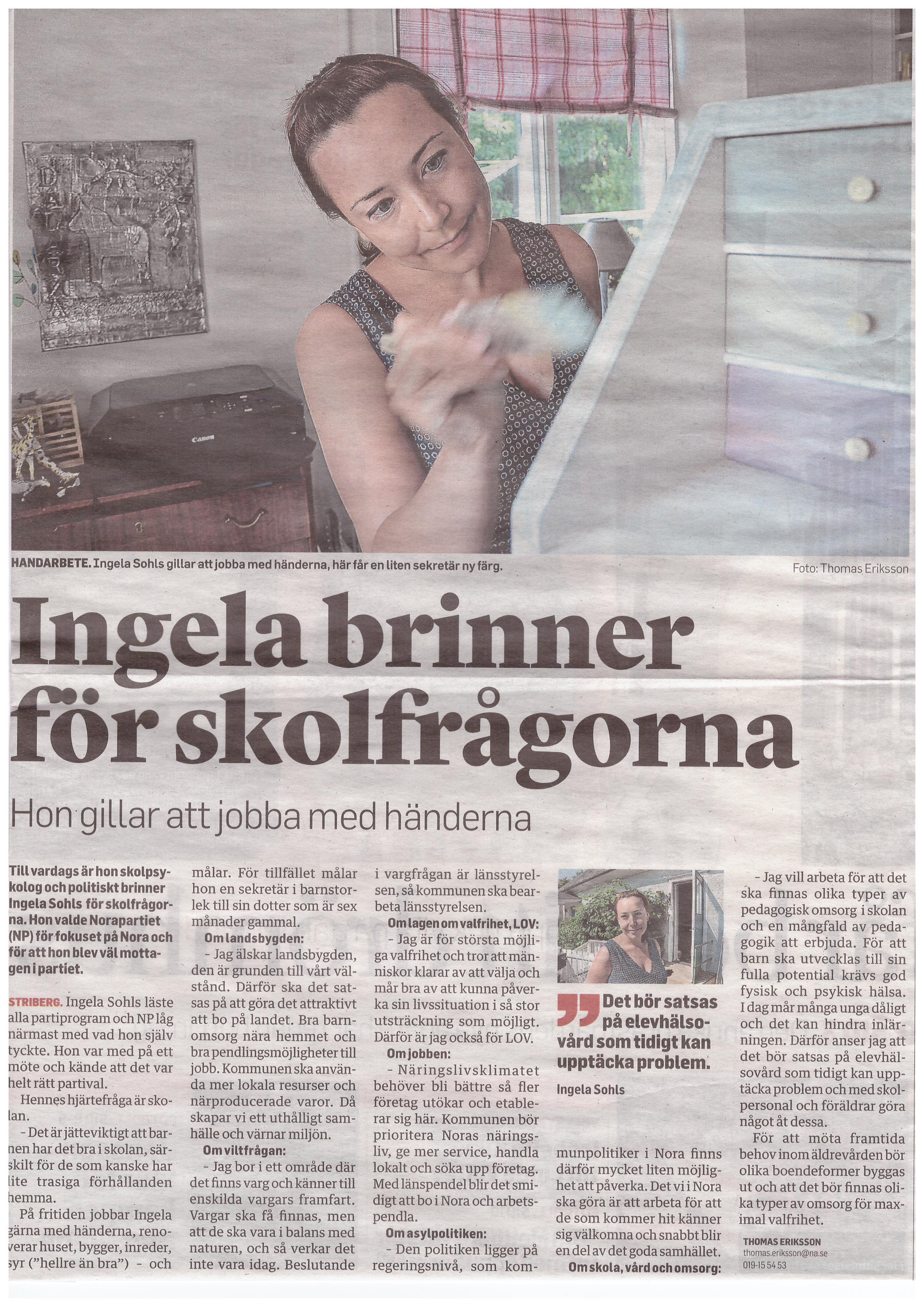 Artikel Ingela Sohl_NA140730